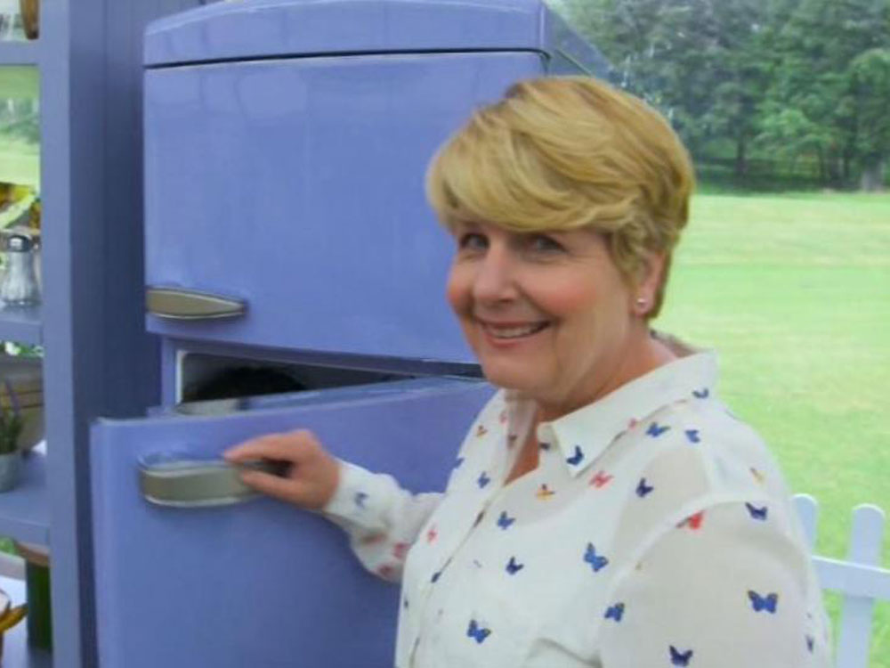 Sandi Toksvig on The Great British Bake Off
