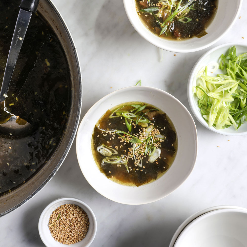 Seaweed soup recipe sohui kim food wine seaweed soup forumfinder Choice Image