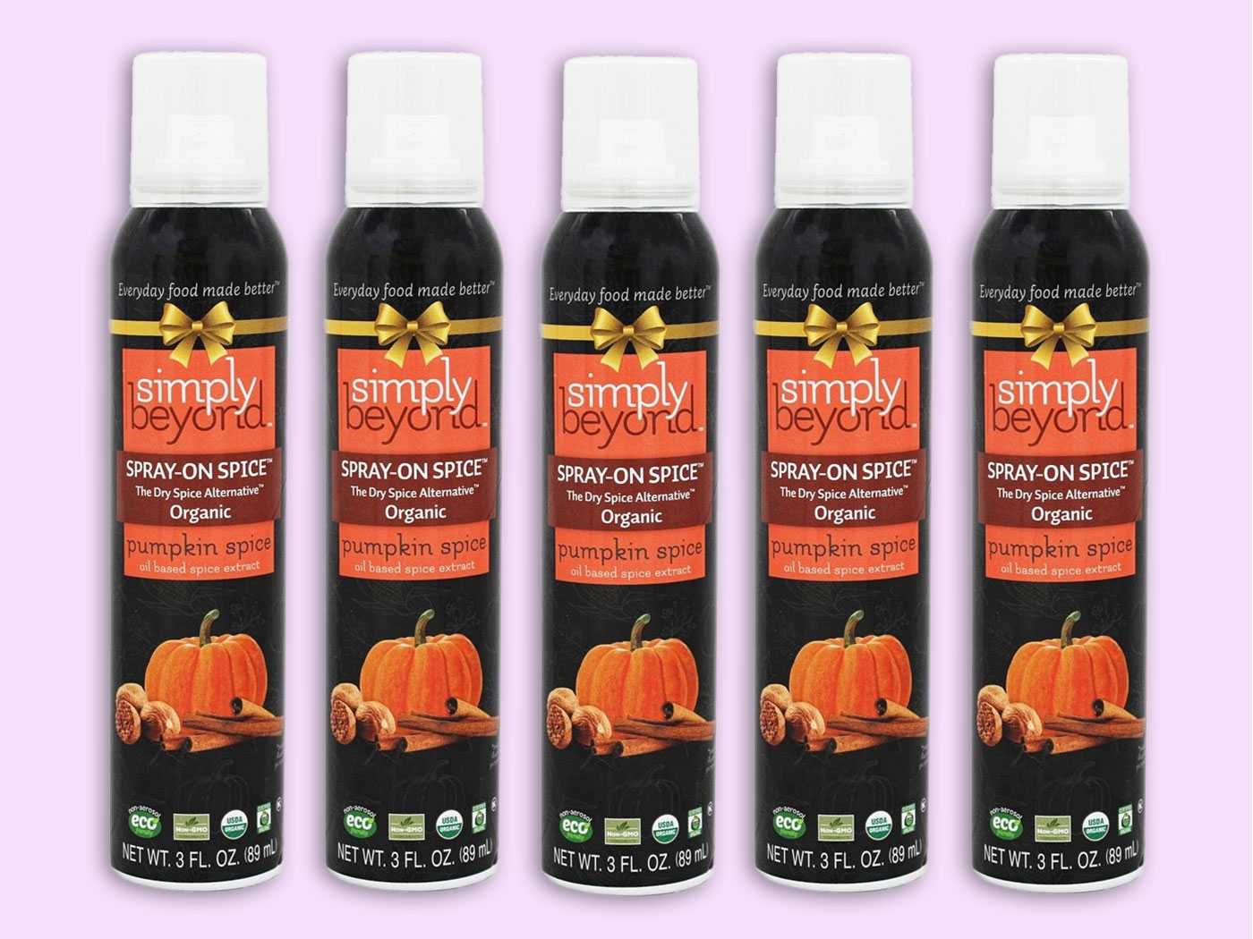 pumpkin spice spray