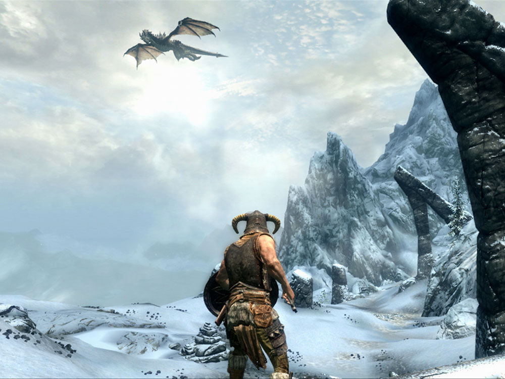 skyrim video game new survival mode