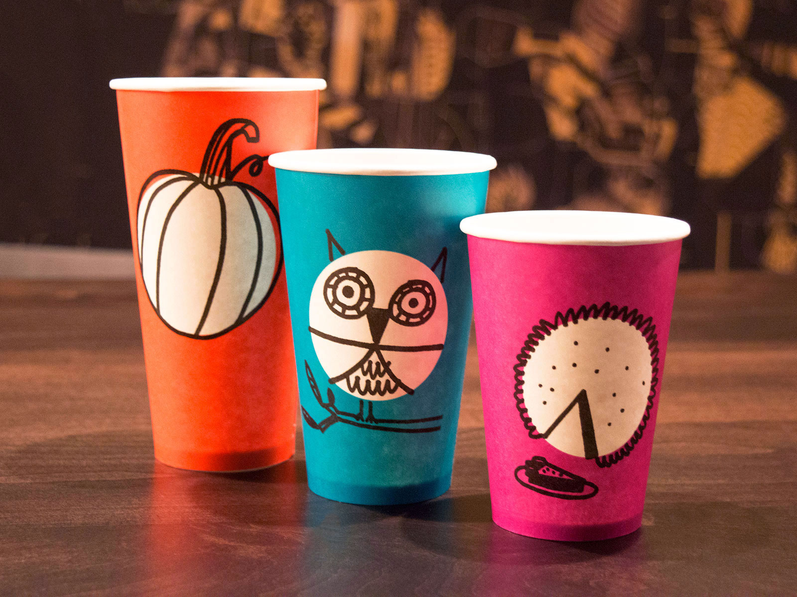 new starbucks cups