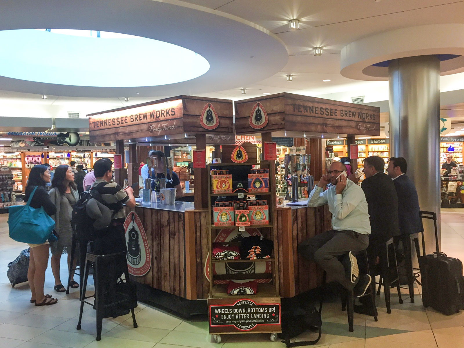 Nashville 39 s airport lets you carry craft beer on your for Best craft beer in nashville