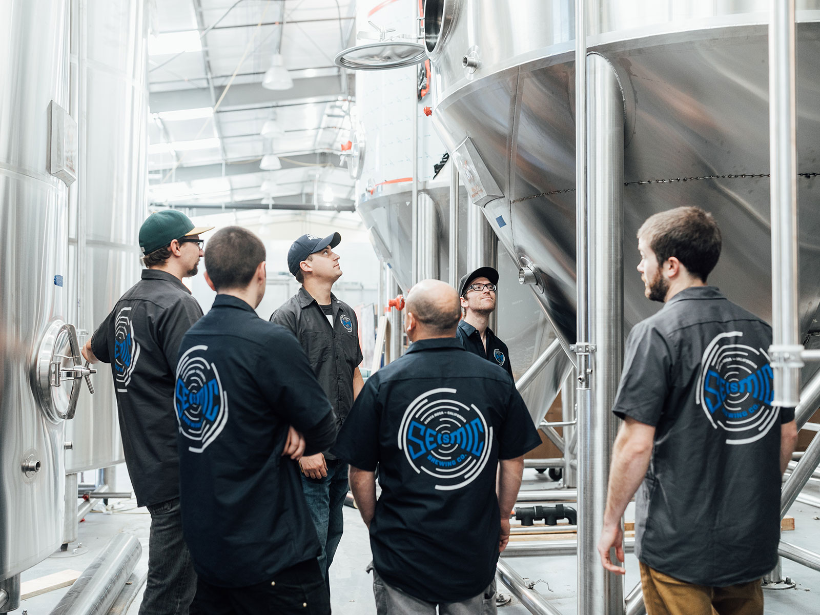 seismic brewing crew