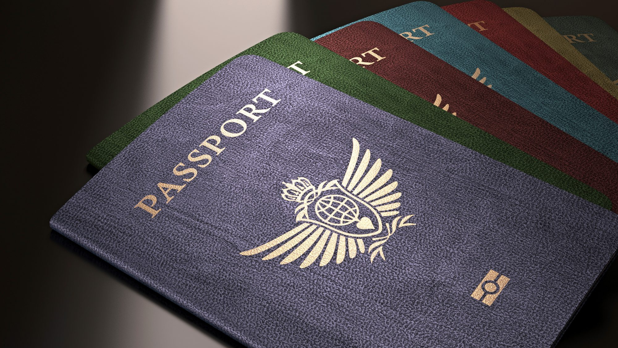 passport, colors, Travel + Leisure