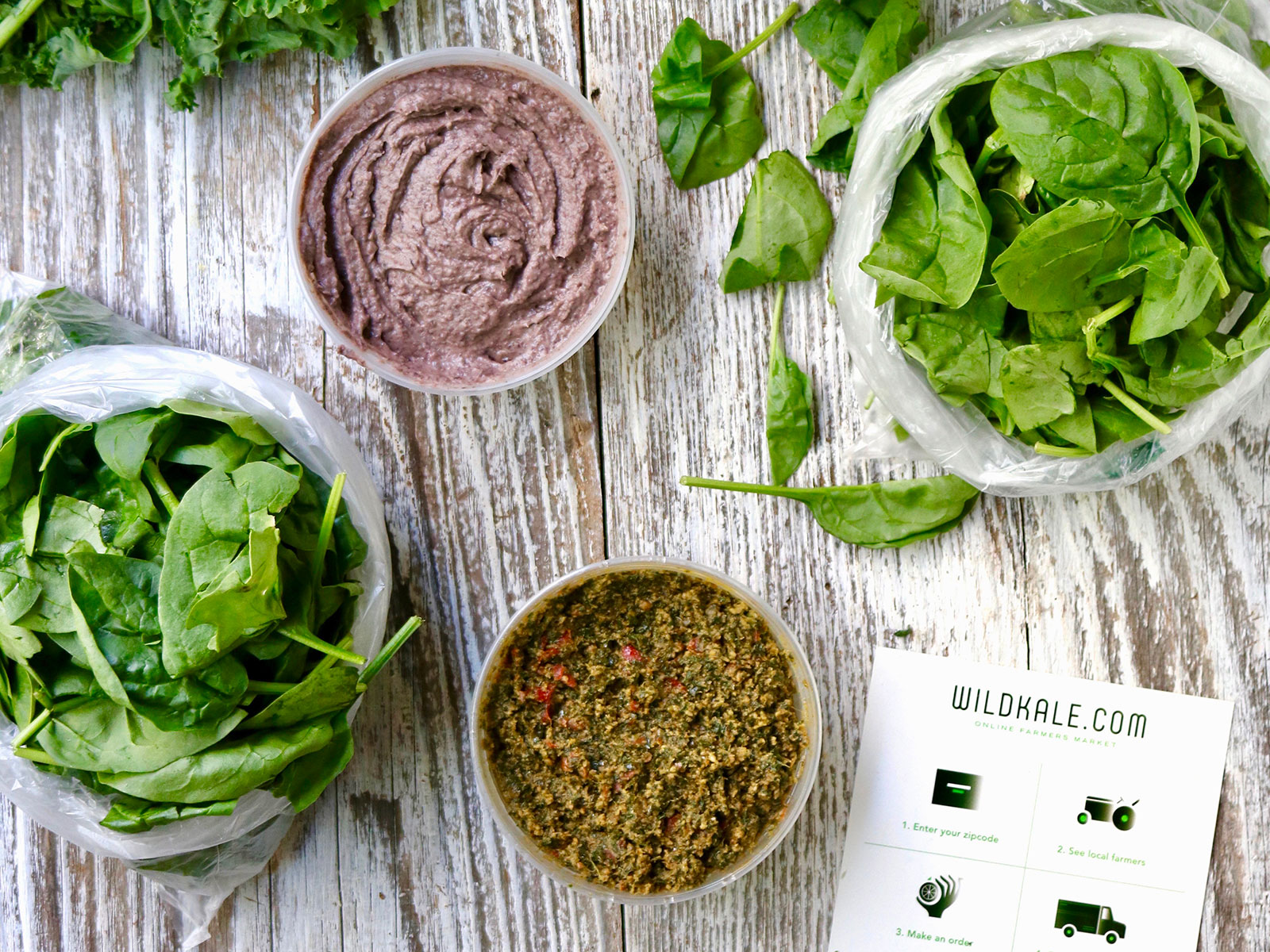 WildKale Helps Farmers Sell Directly to Online Customers Through an App