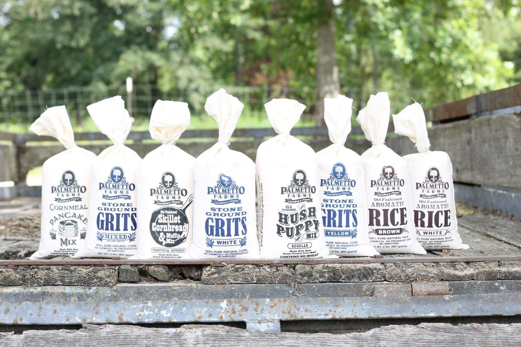 Palmetto Farms White Stone-Ground Grits