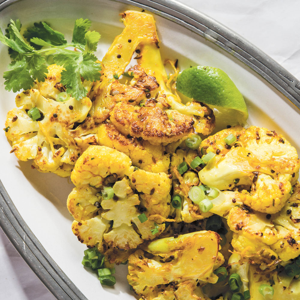 Indian Panfried Cauliflower