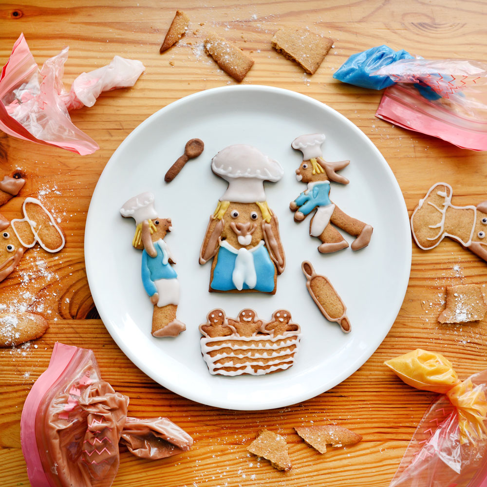 Baker Food Art