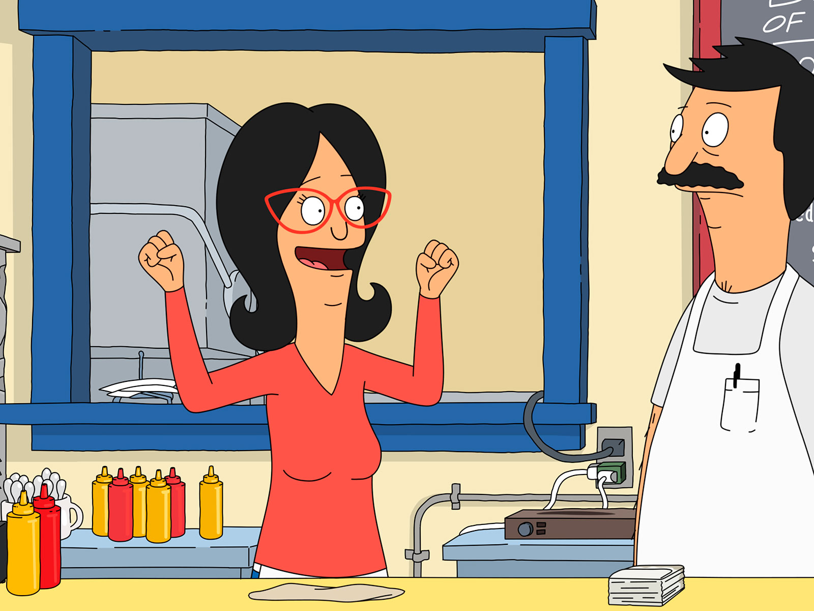 bobs burgers on fox linda and bob