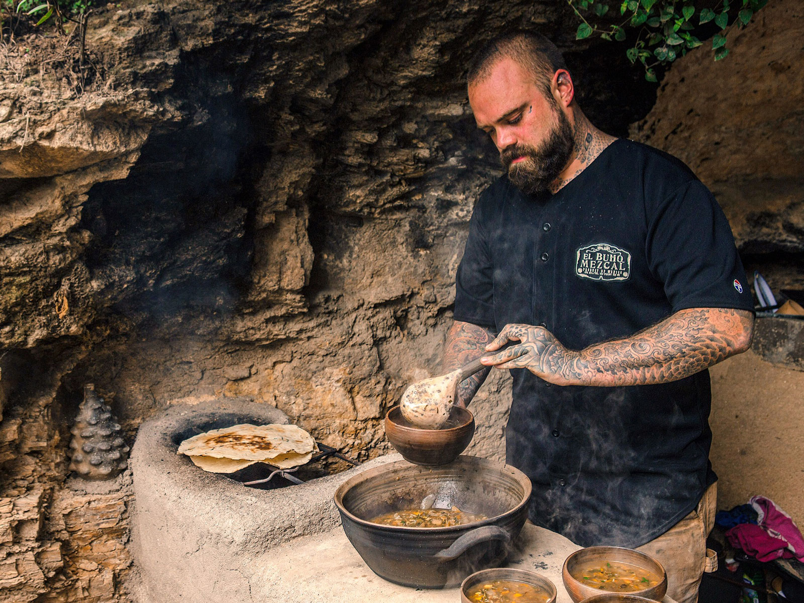 This Chef's Whole Body Is Covered in Taco-Related Tattoos