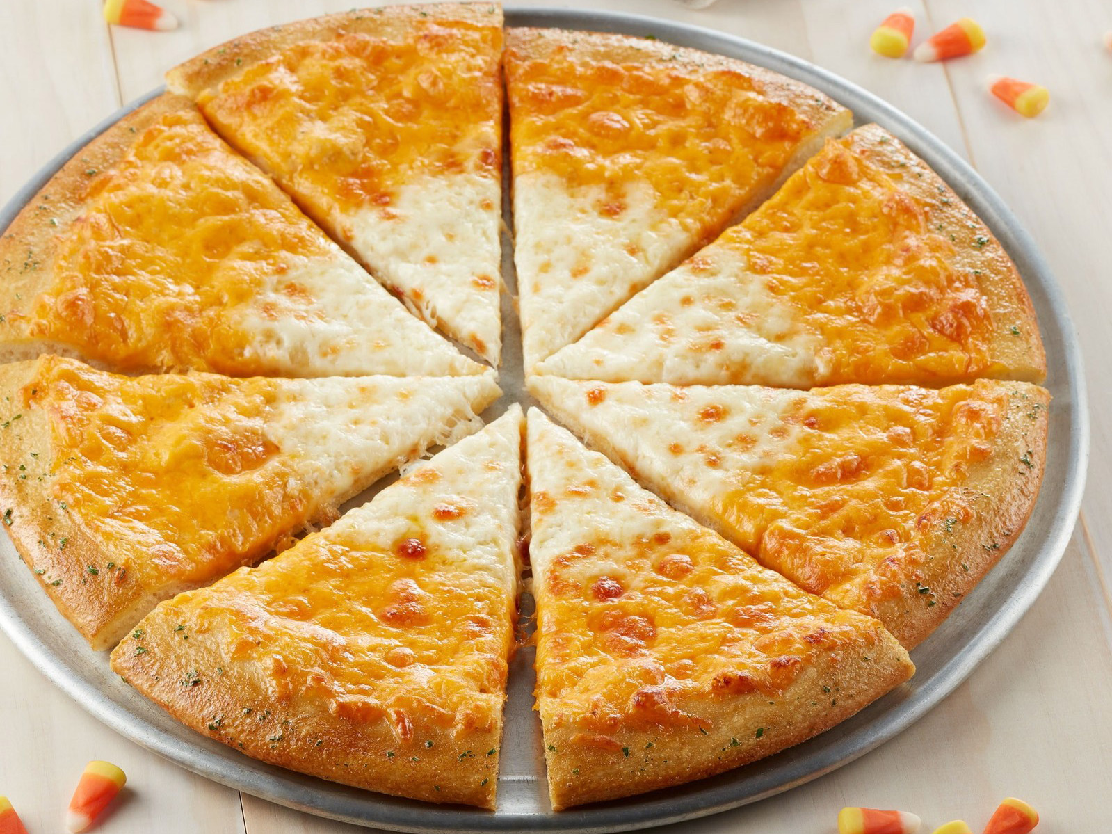 Chuck E Cheeses Has Candy Corn Pizza and You Can Get It for Free