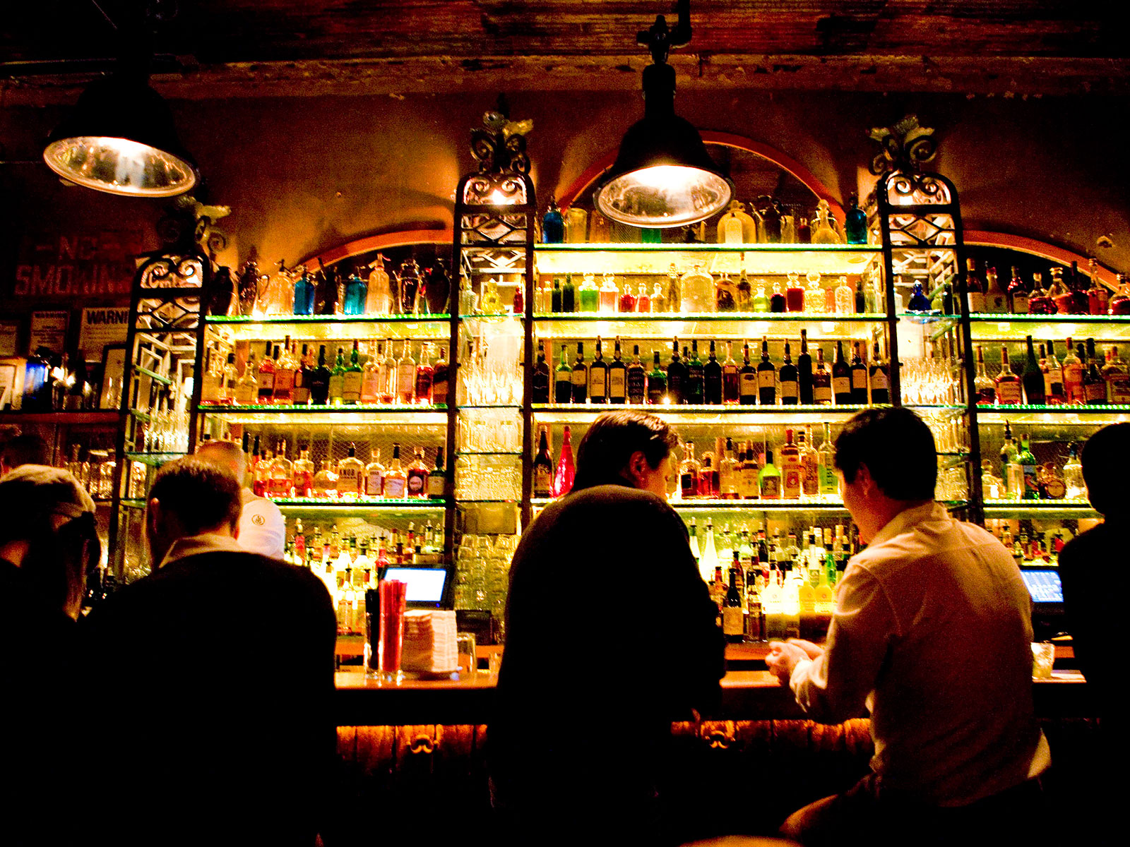 dancing at the bar in new york city is illegal