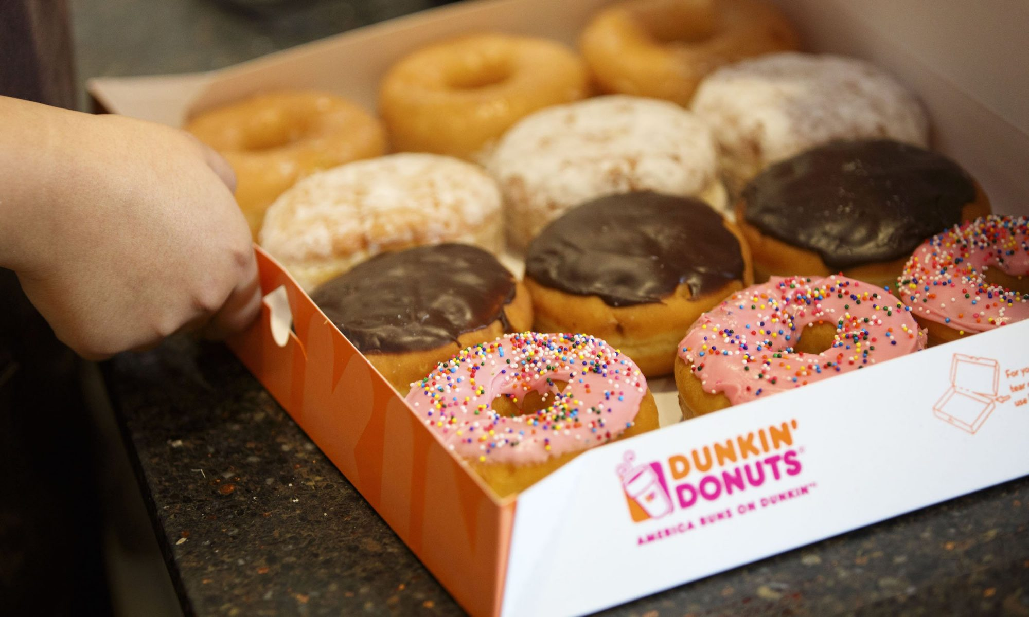 Dunkin' debuts a mobile order drive-thru at its new concept store