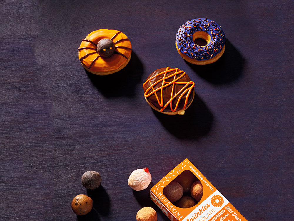 boston scream donut for halloween special at dunkin