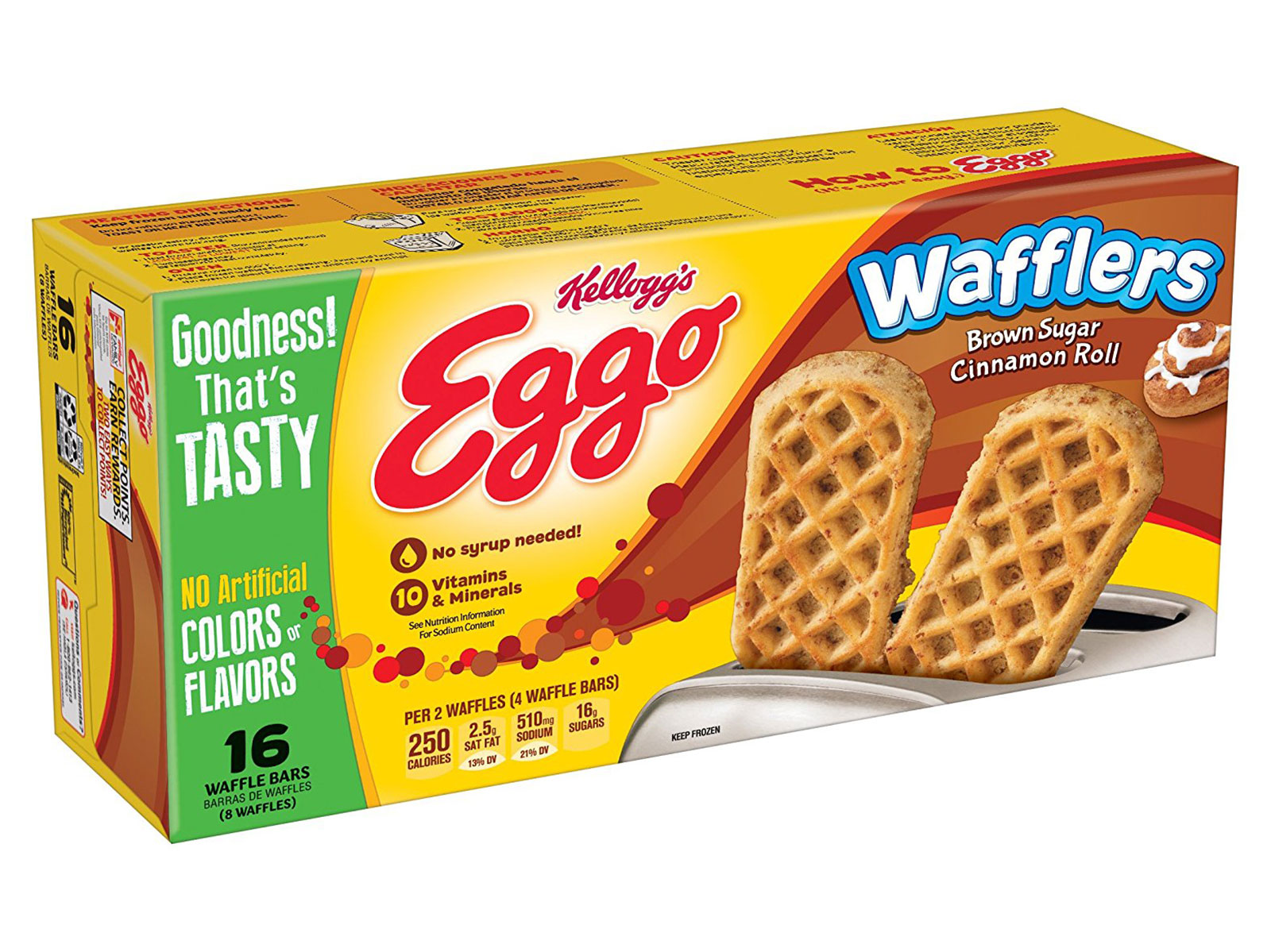 brown sugar wafflers from eggos
