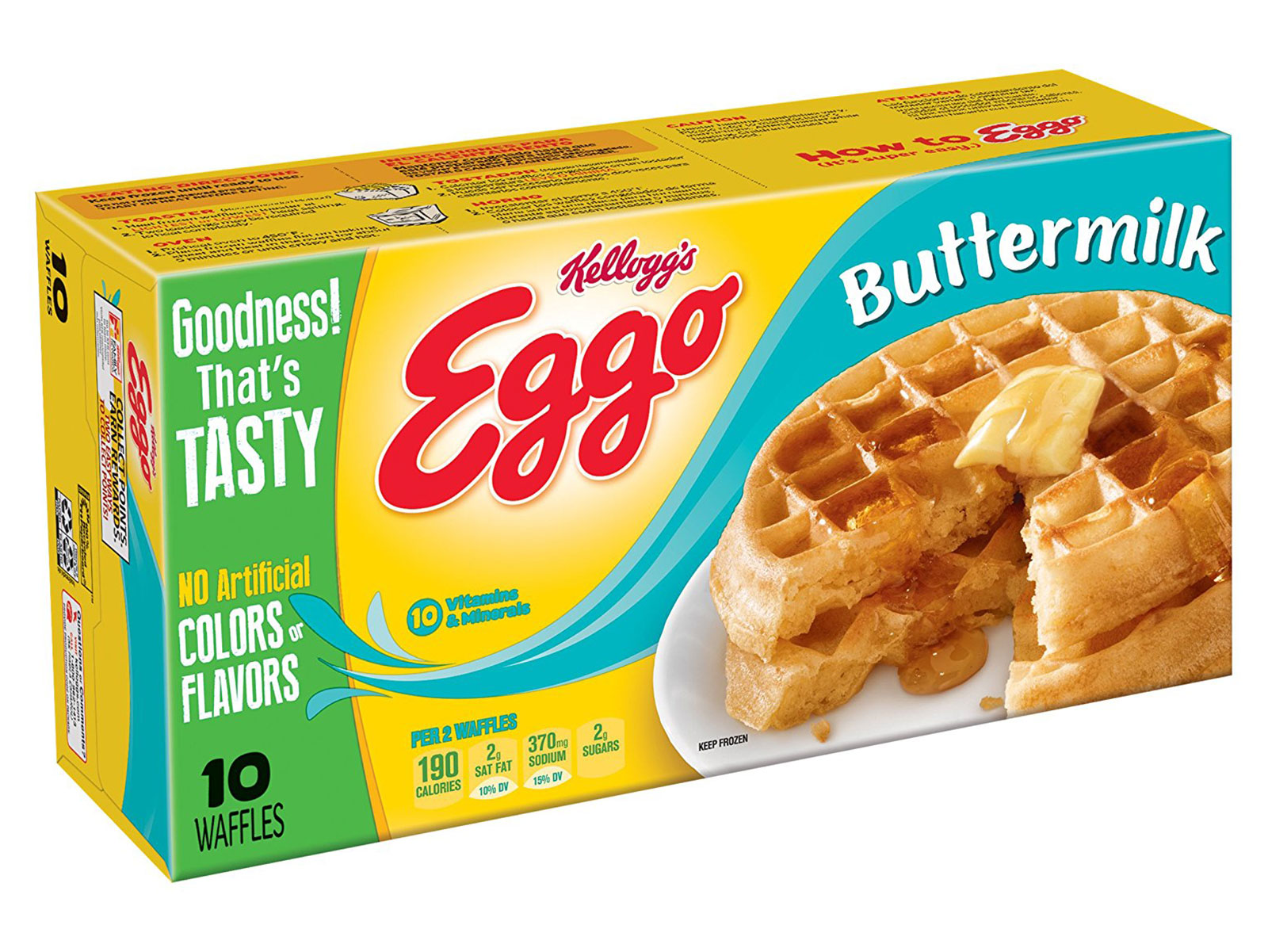 buttermilk frozen eggos