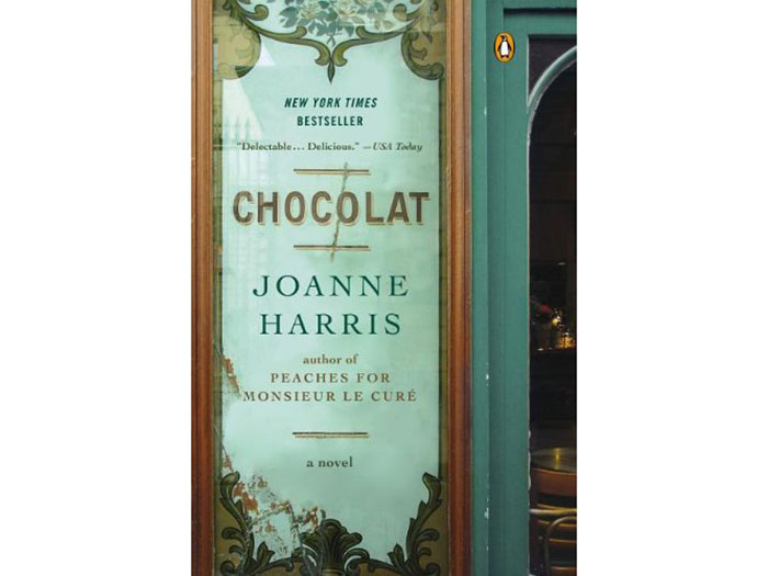 chocolat fiction novel about food and love