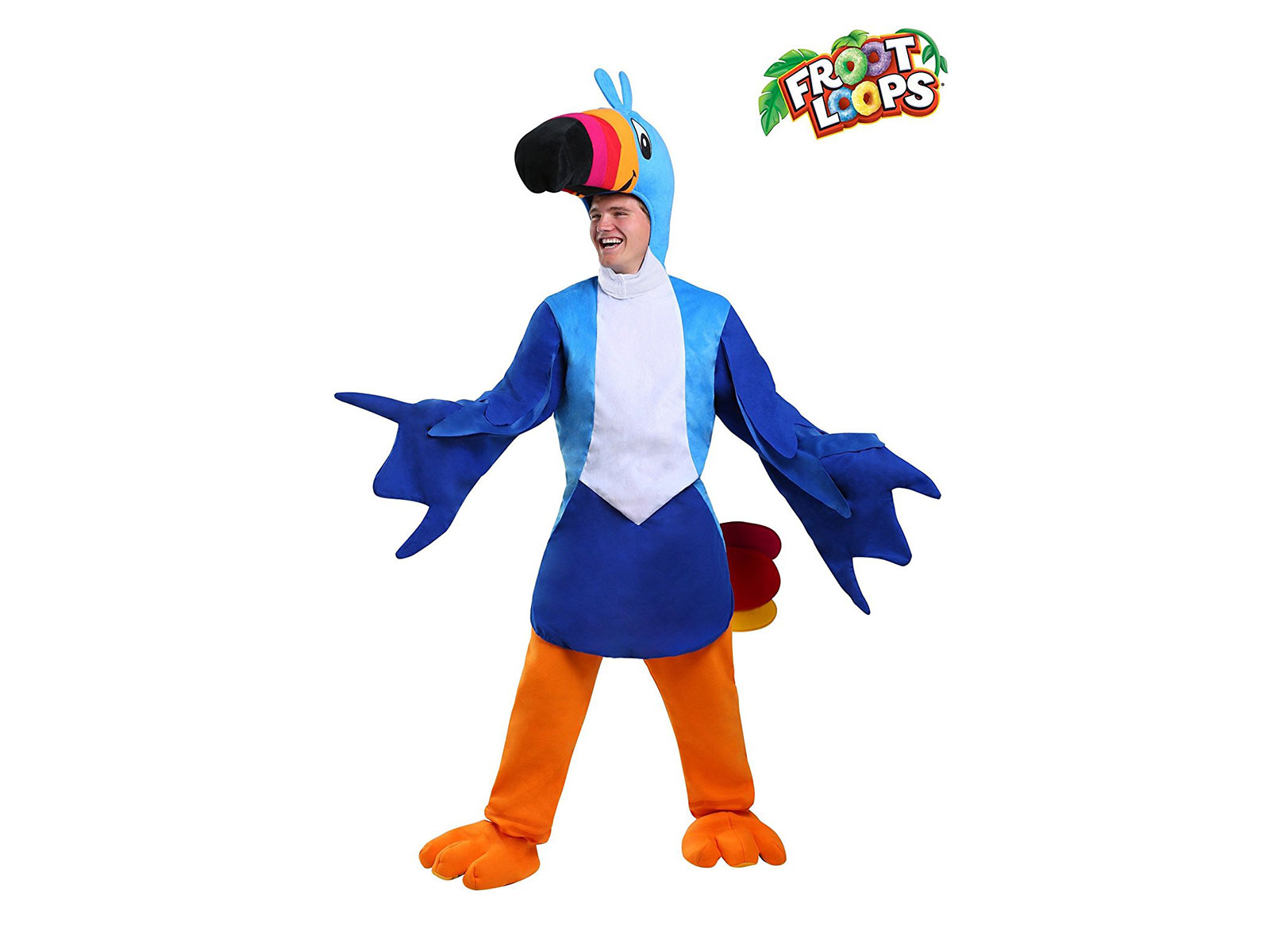 fruit loops toucan sam  sc 1 st  Food u0026 Wine Magazine & 13 Food Mascot Costumes You Can Wear This Halloween | Food u0026 Wine