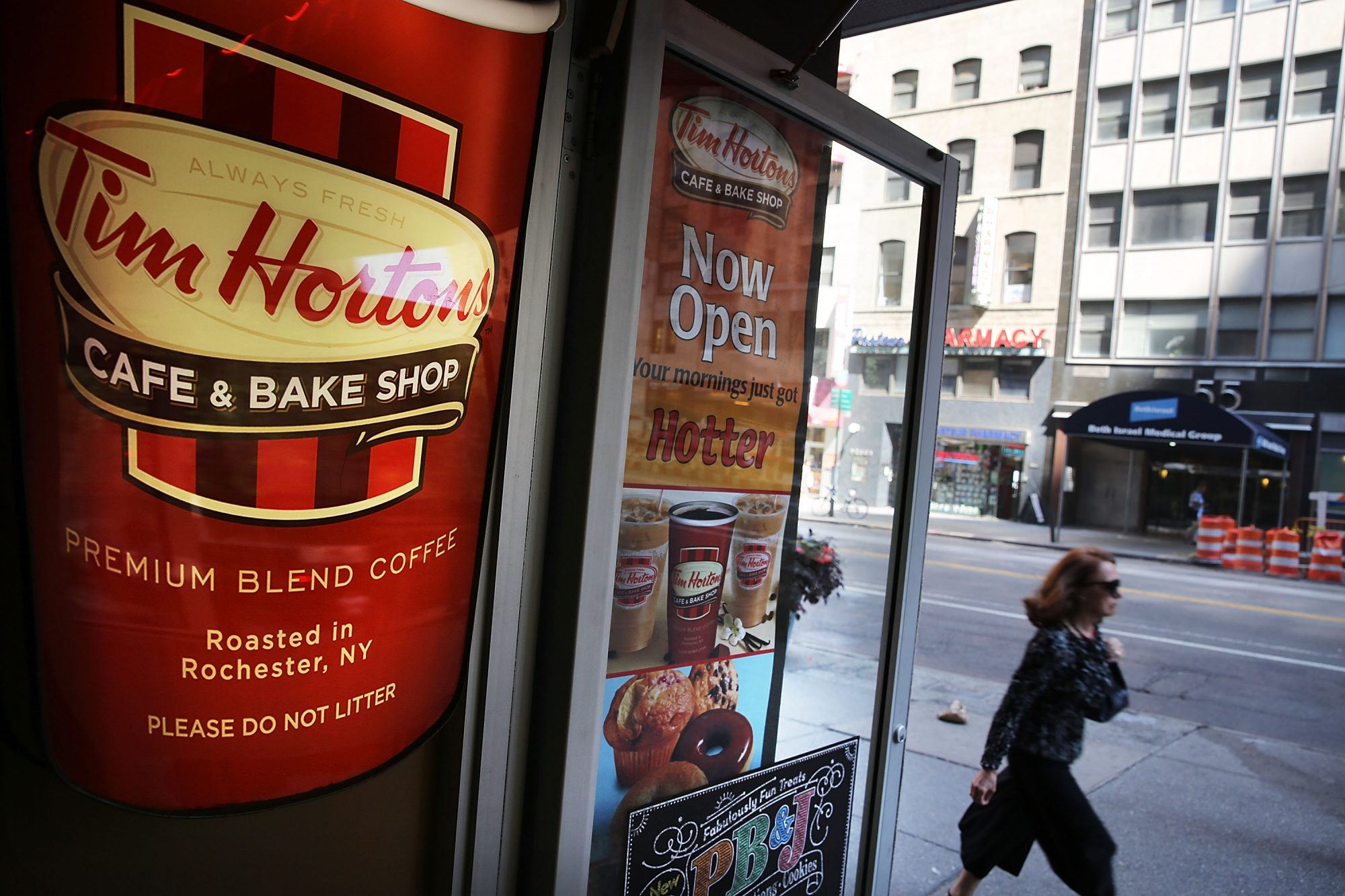 Burger King In Talks To Acquire Canadian Chain Tim Horton's