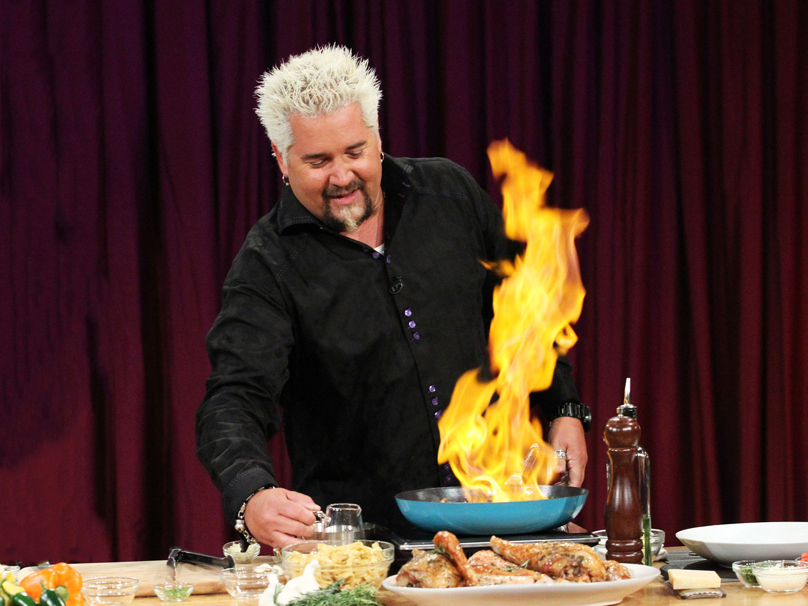 guy fieri flame shirt