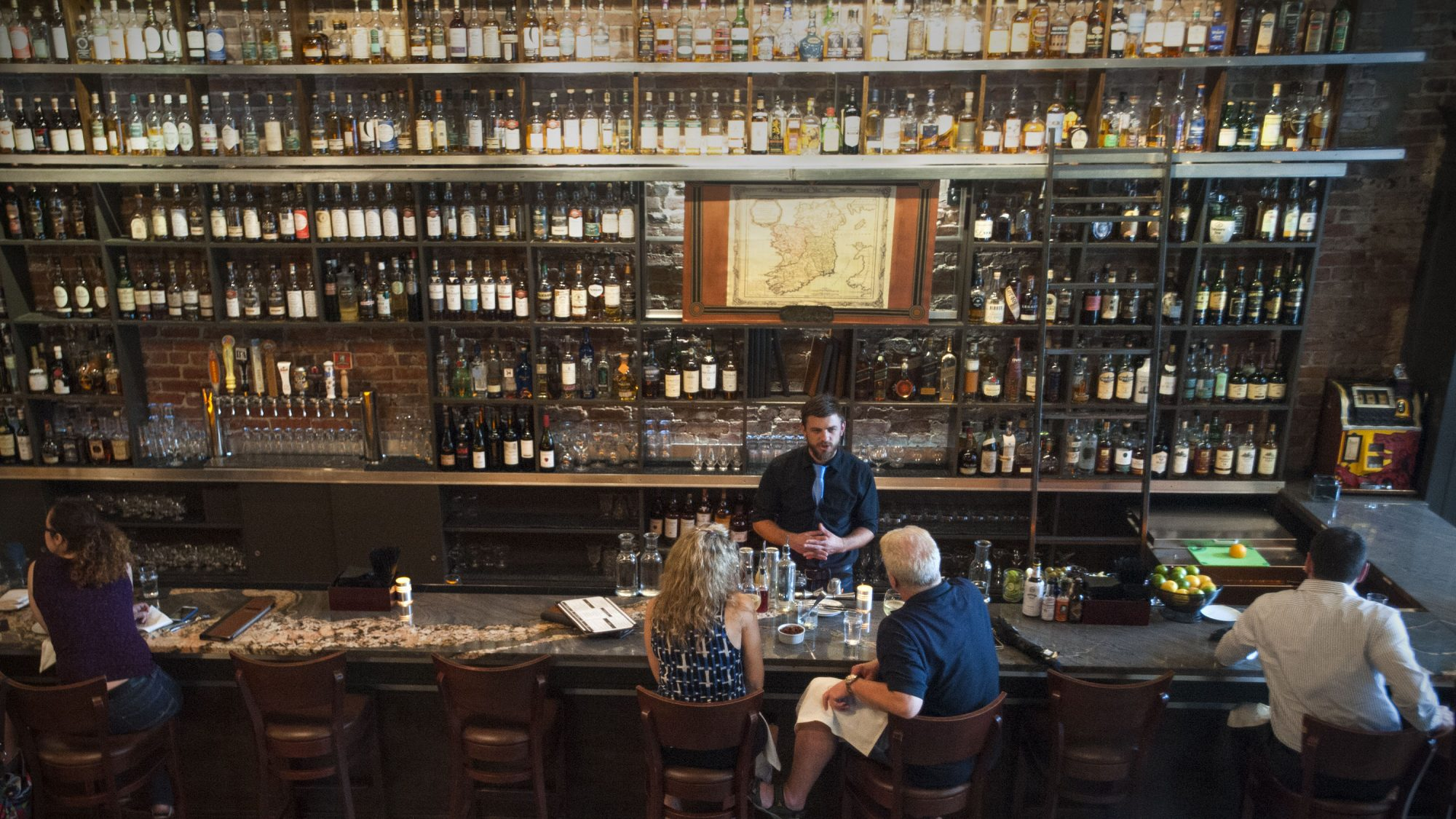 Before the new law was passed, you would have to travel far from the source to places like the Jack Rose Dining Saloon in D.C. to find rare bourbons.