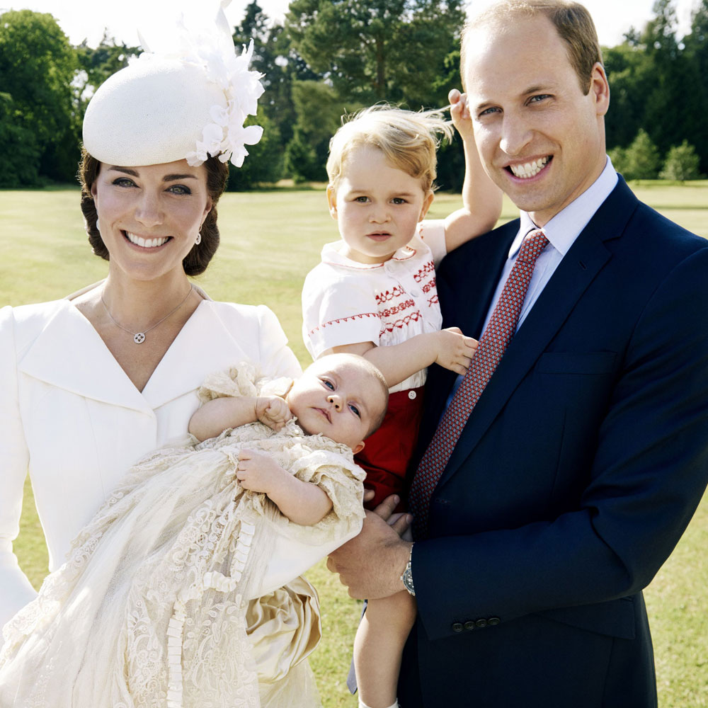 The Duchess Of Cambridge, Prince George, Princess Charlotte and Prince William