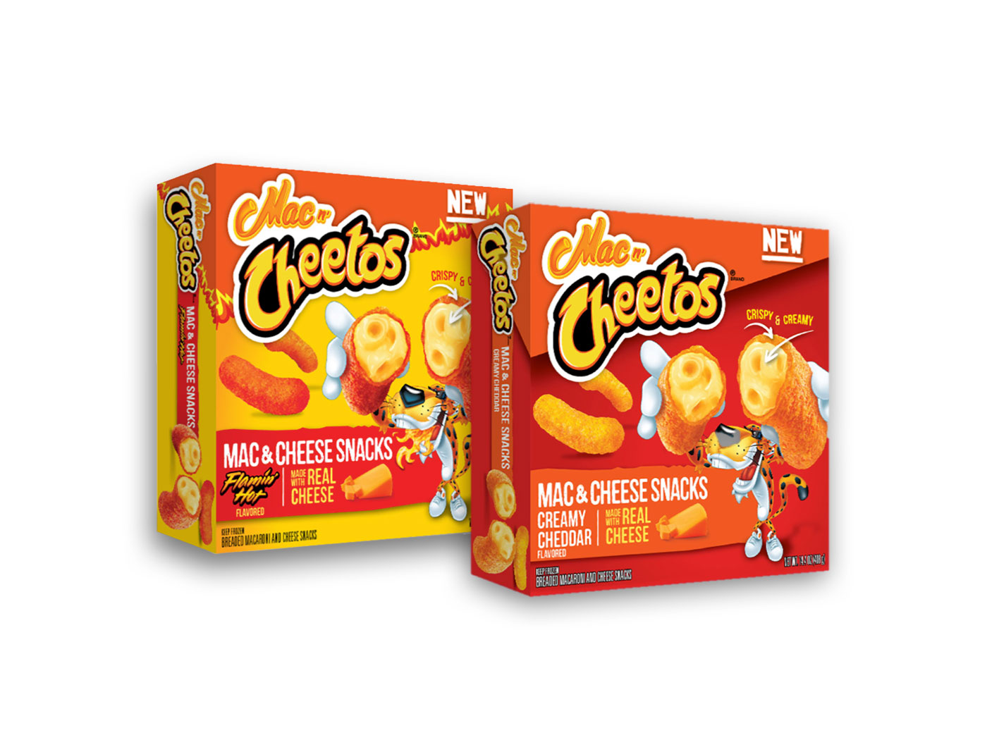 mac n cheetos available in the freezer aisle now