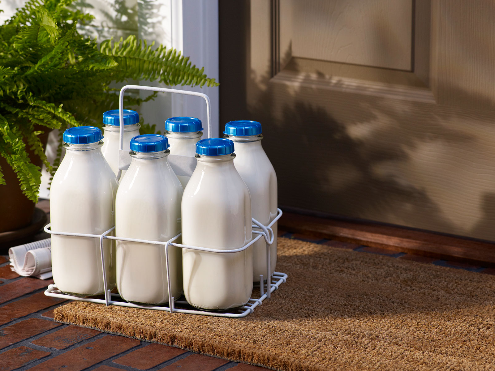 milkman delivery to front porch