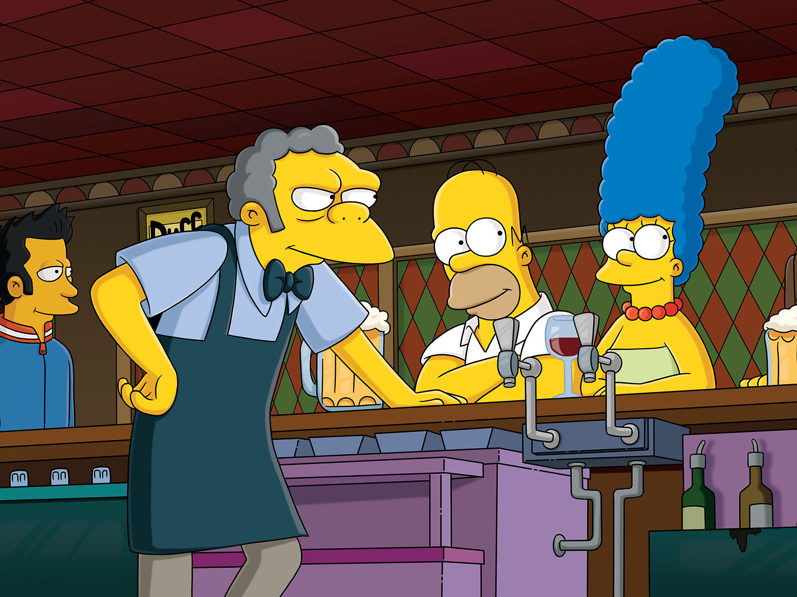 moe's tavern simpsons pop up