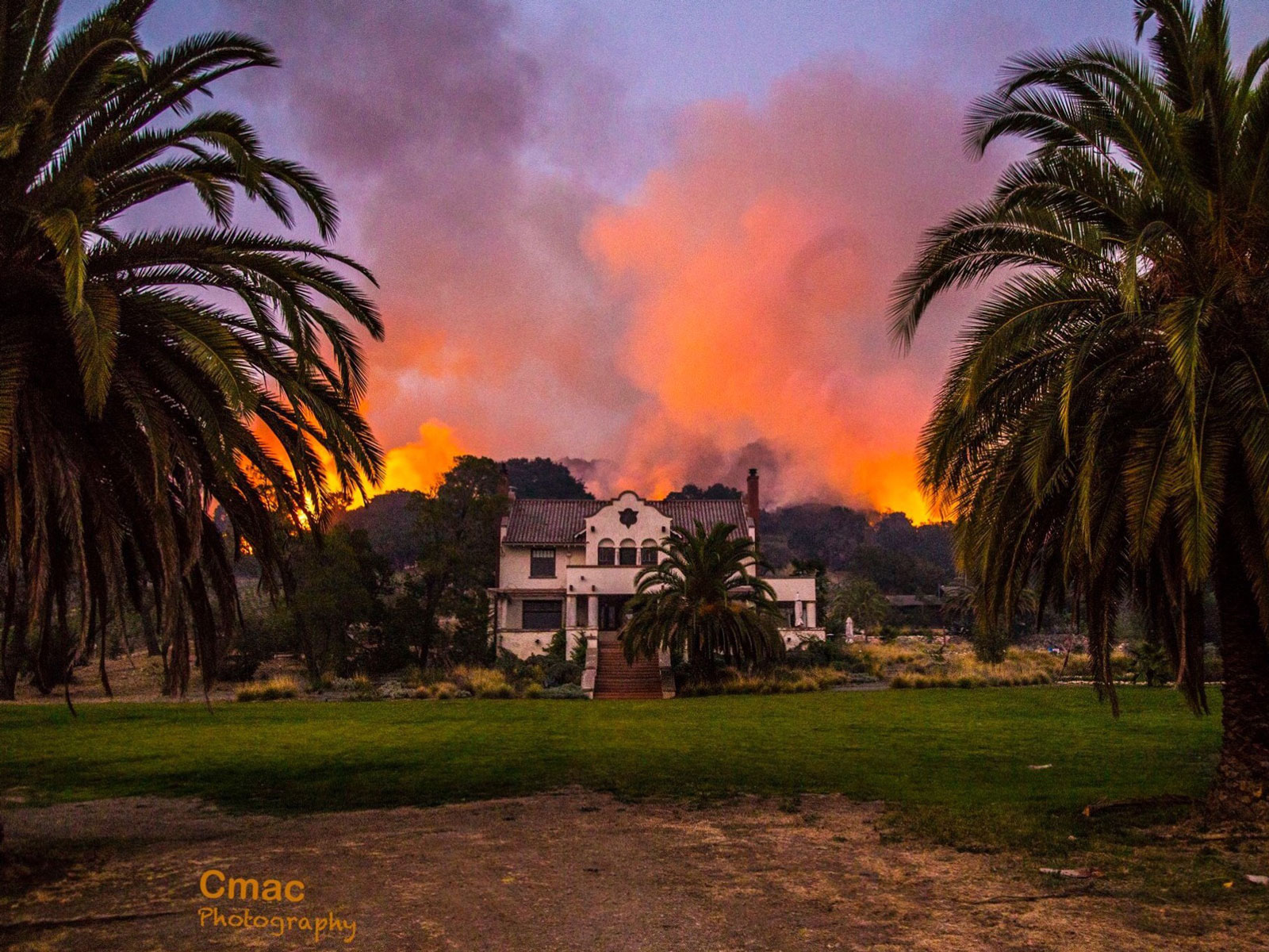 Napa Valley Fires Update