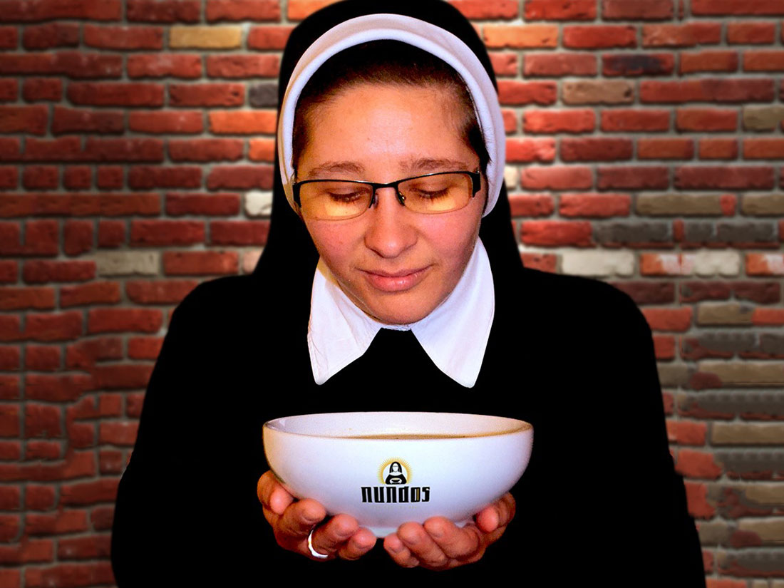 A Nun-Run Pop-Up Restaurant Called 'Nundos' Is Funny But Not a Joke