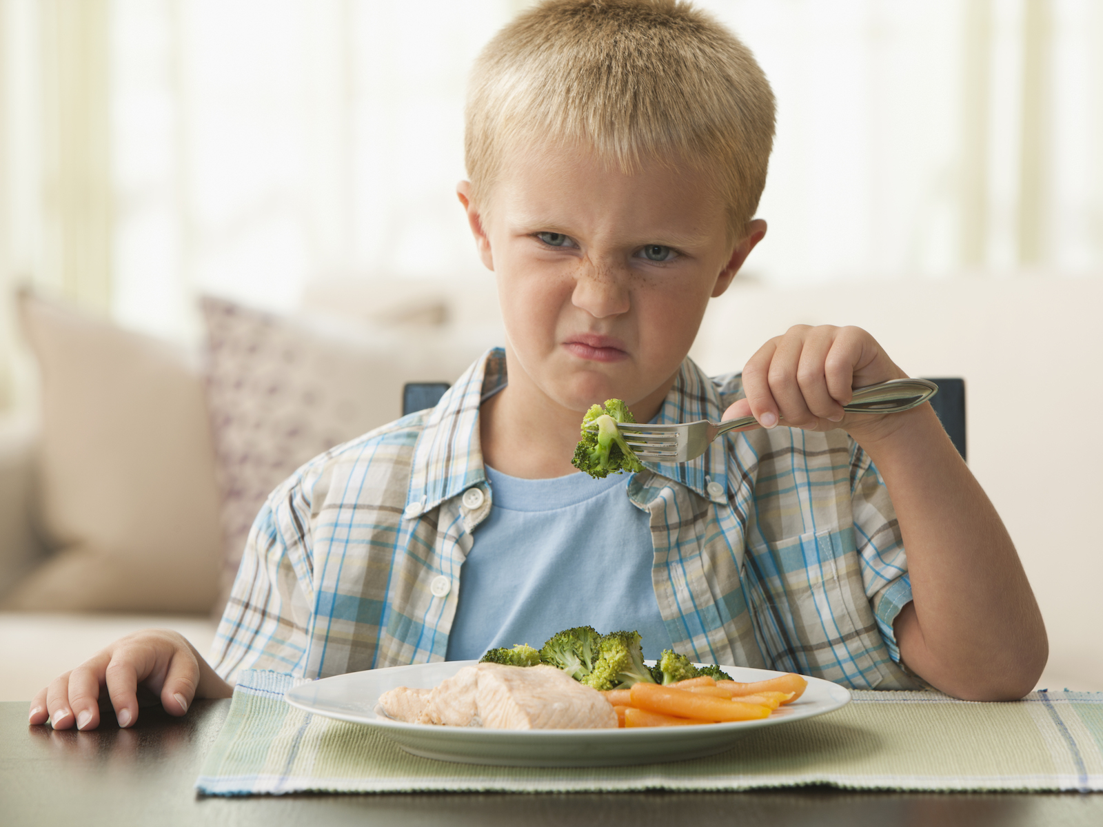 Picky eating gene mutation