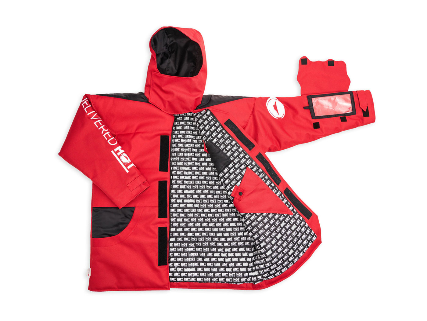 pizza hut designs parka