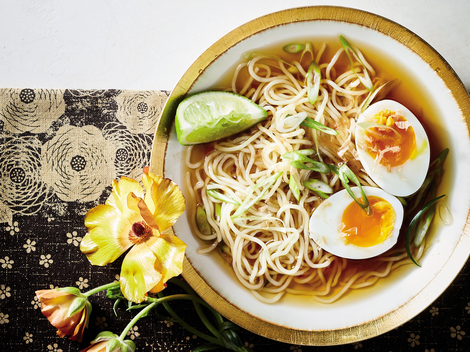 Ramen with Lime and Lemongrass