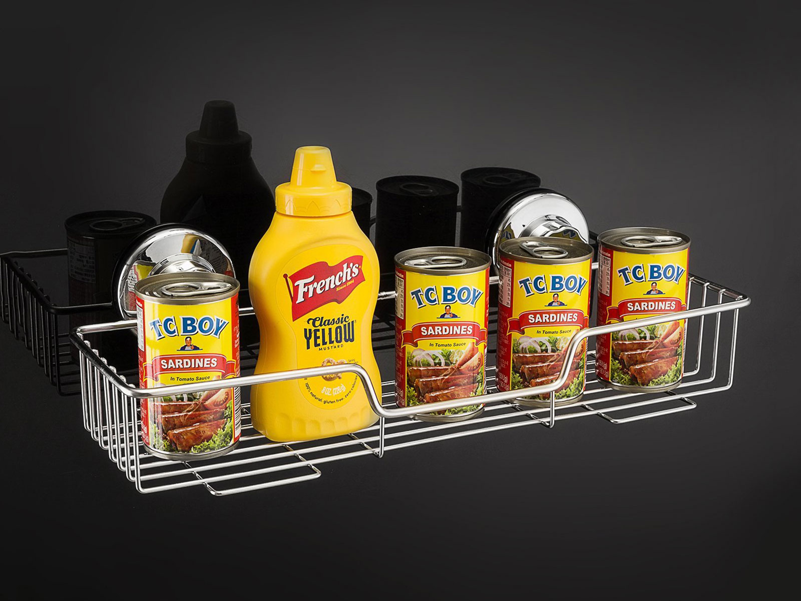 condiment holder for shower