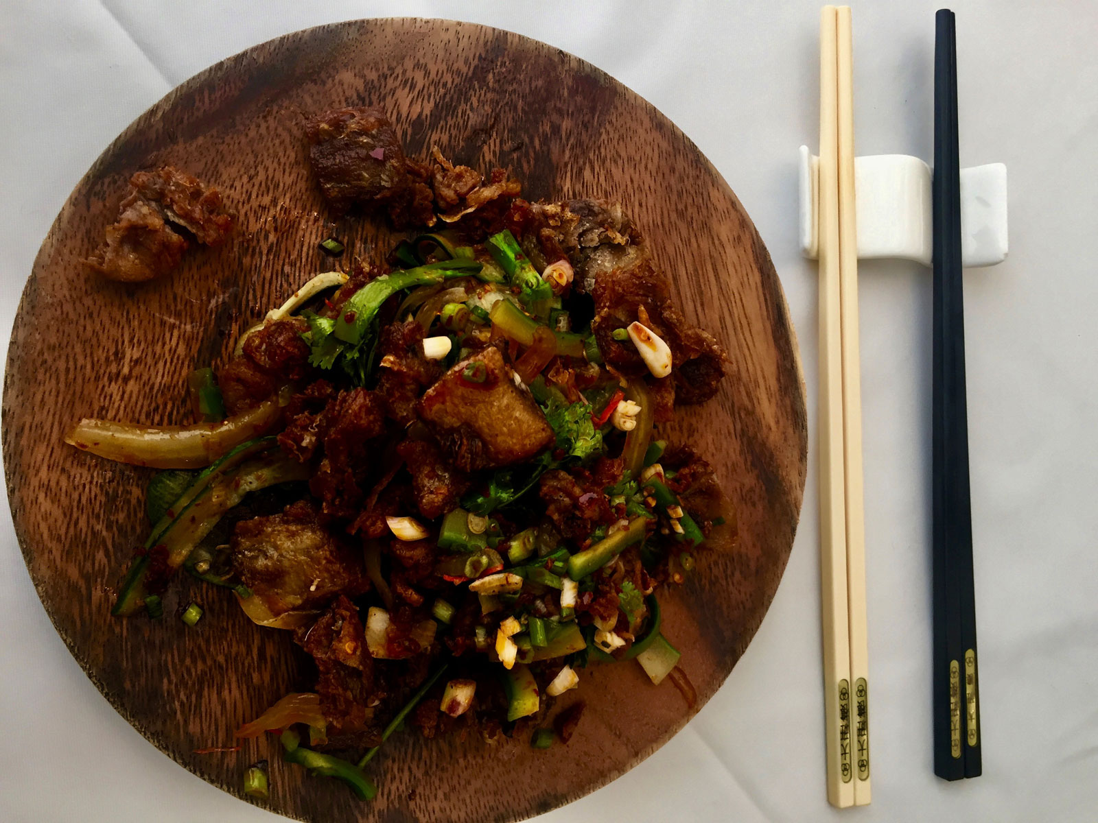 Sichuan Lamb Belly at The Chairman