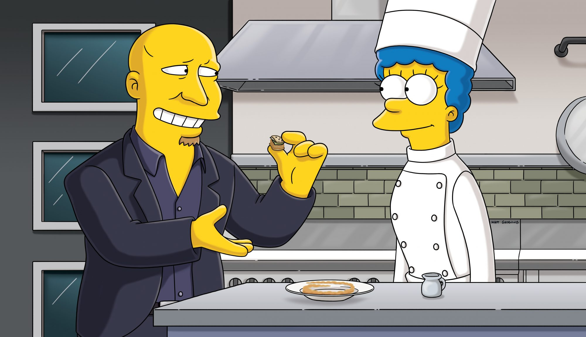 tom colicchio on the simpsons