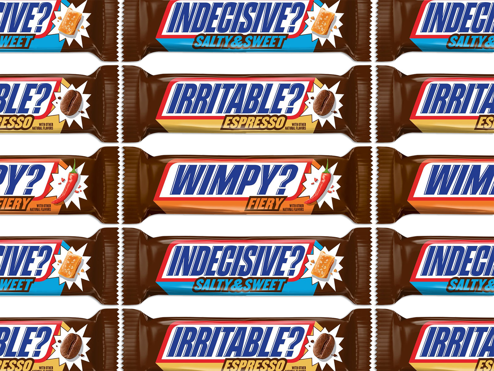 Snickers Releases Three New Bars