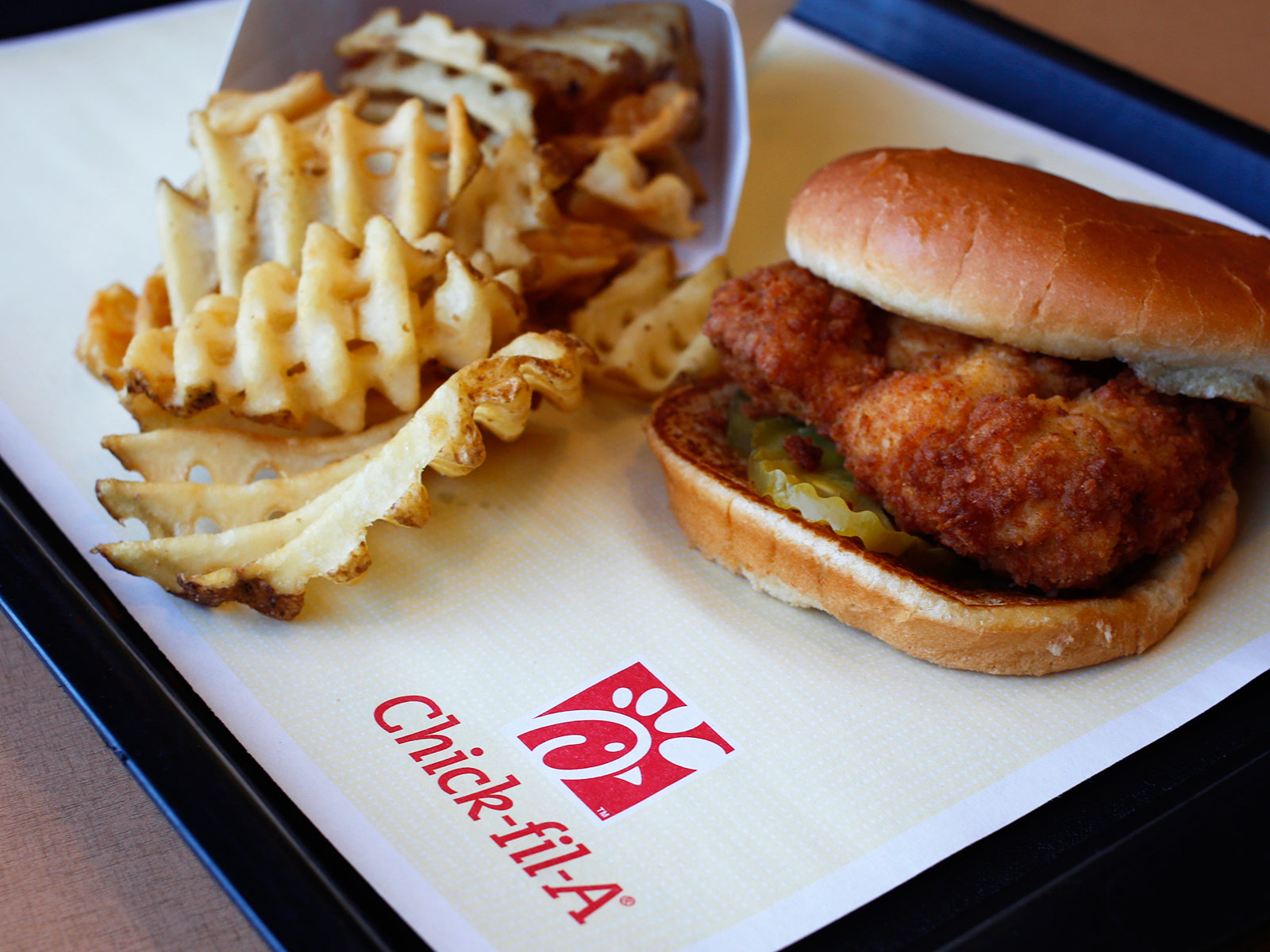favorite fast food by state chick-fil-a