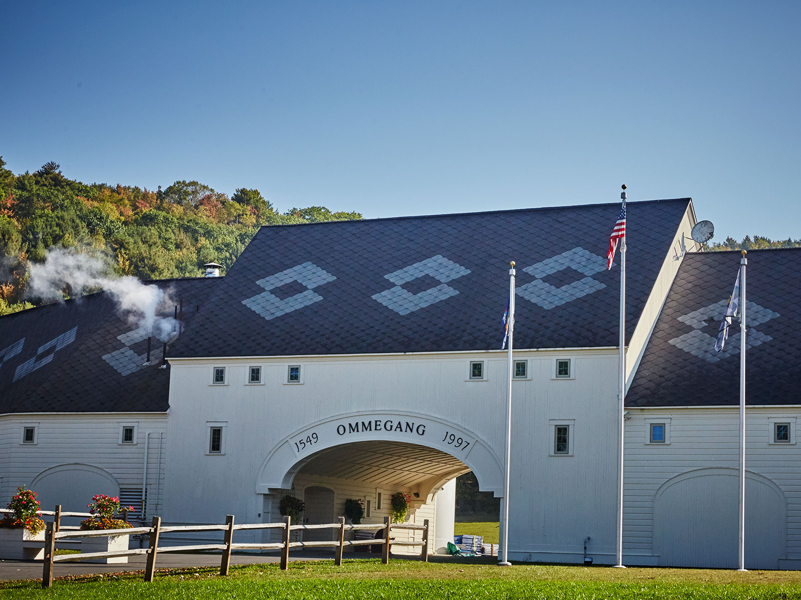 brewery ommegang in new york exterior