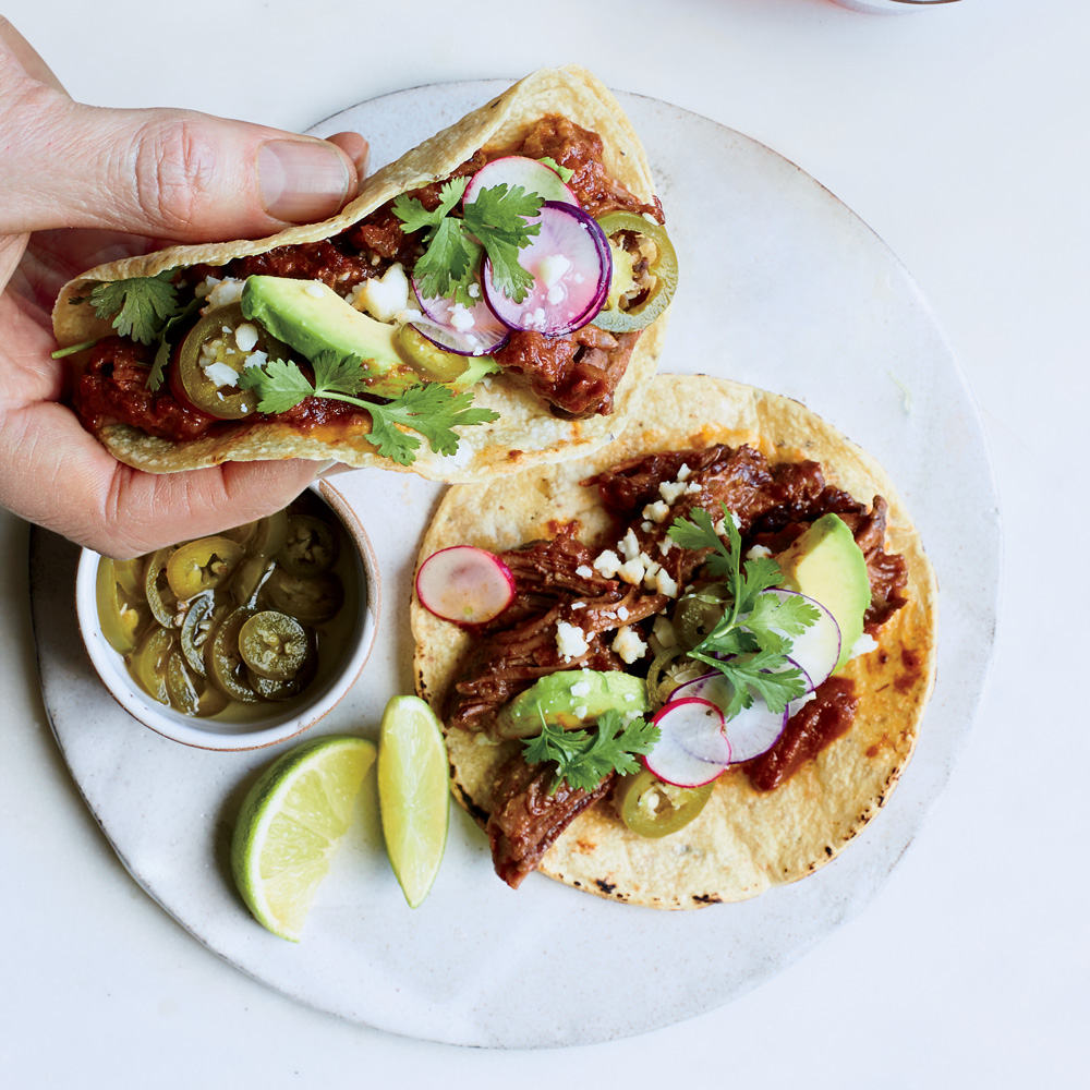 Texas Chile Short Rib Tacos