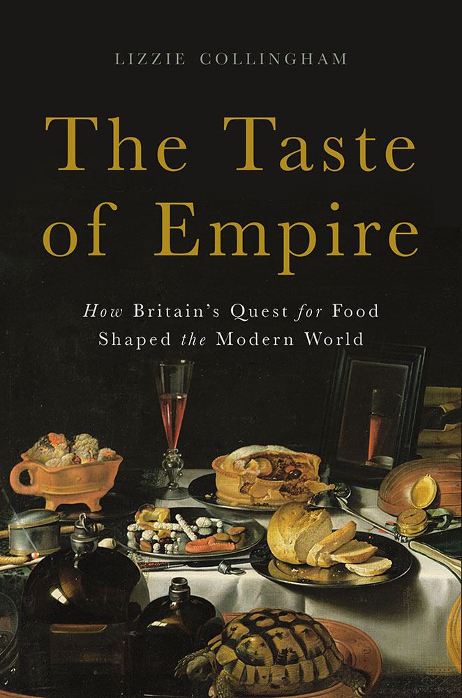 cover of taste an empire