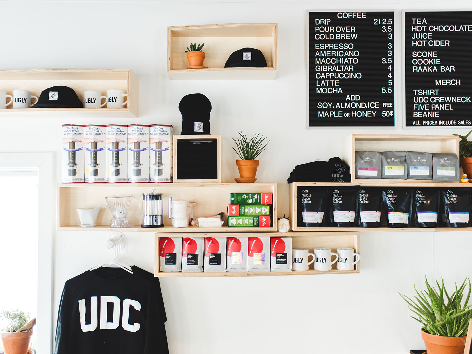 ugly duck coffee in rochester new york