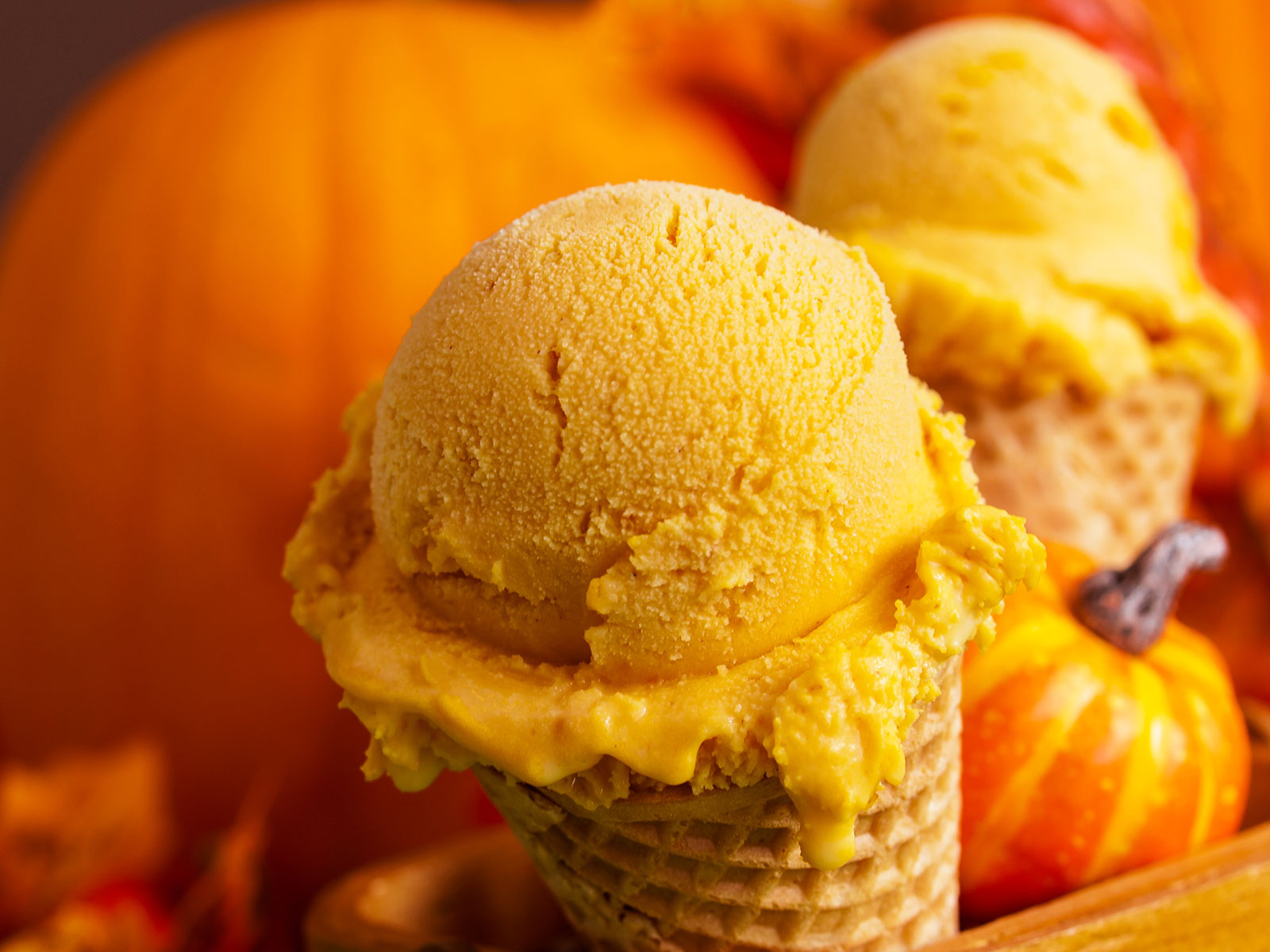 18 Pumpkin Ice Cream Brands To Satisfy Your Sweet Tooth This Fall [Video]