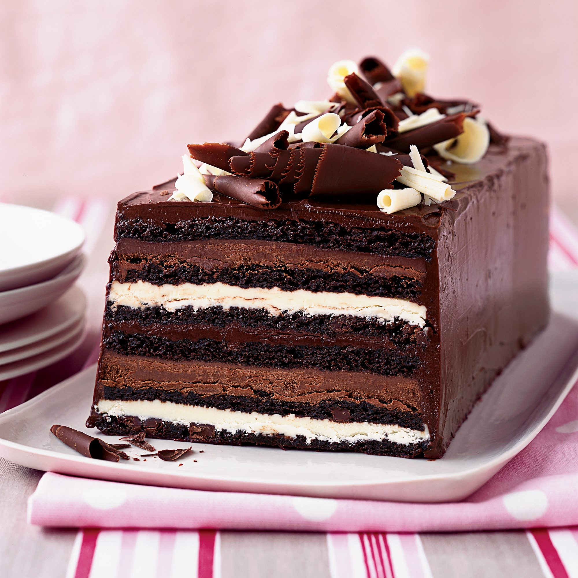 Chocolate Truffle Layer Cake Recipe - Kimberly Sklar | Food & Wine