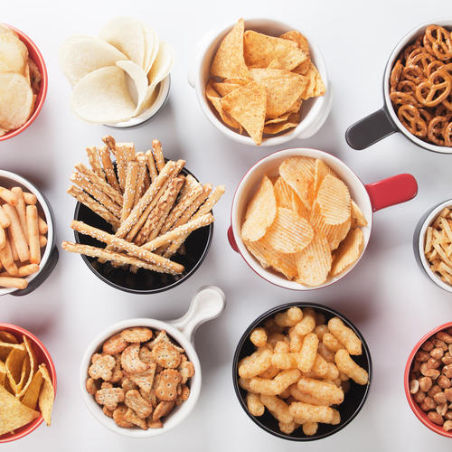 Salty and Crunchy Snacks