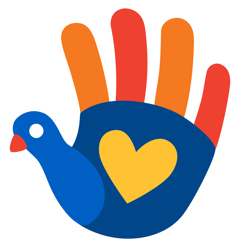 Venmo/Aldi Friendsgiving Turkey Hand Emoji