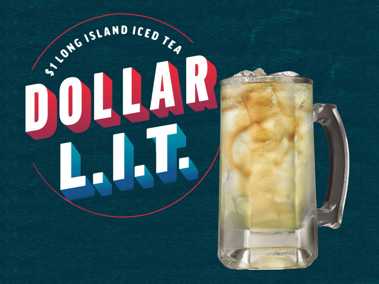 Applebee's Offering $1 Long Island Iced Teas All December