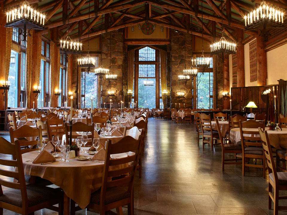 California The Majestic Yosemite Dining Room