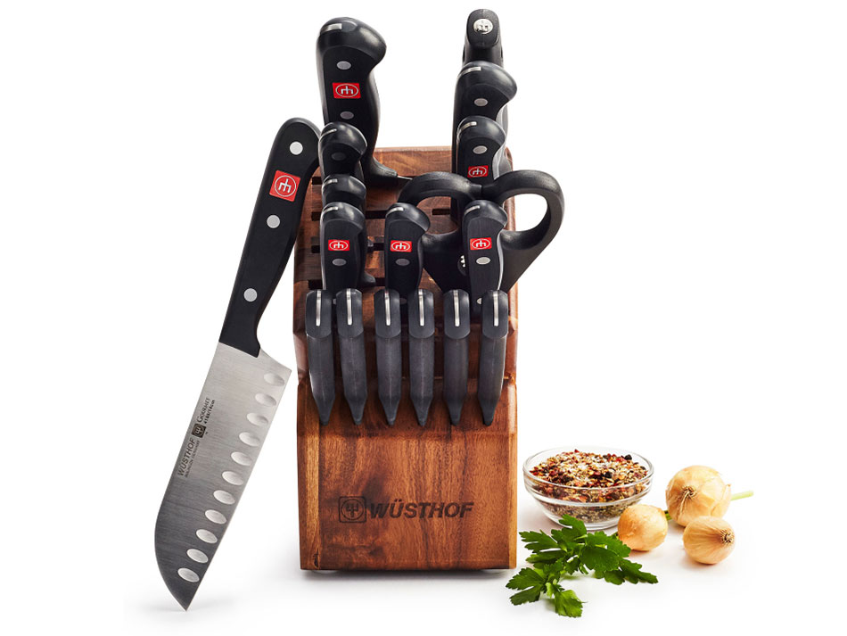 sur la table knife set wusthof